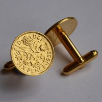 Birthdate coin cufflinks an ideal birthday present available in the following years: 1967, 1966, 1965, 1964, 1963, 1962, 1961, 1960, 1959, 1958, 1957, 1956, 1955, 1954, 1953. 1958 is a sixth birthday